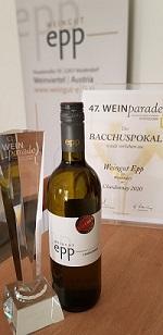 Pokal-Chardonnay und andere Auszeichnungen